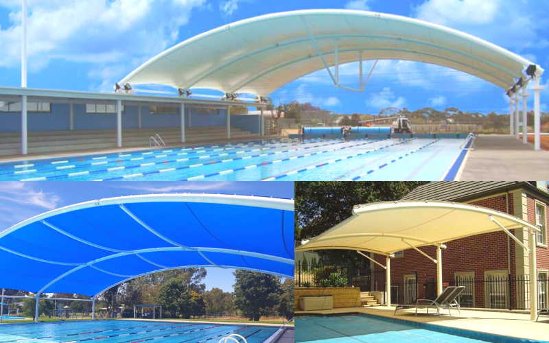 Swimming Pool shades Dubai: Sun Shades Installation in UAE